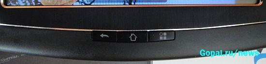 Кнопки управления Андроидом в планшете Ramos w12