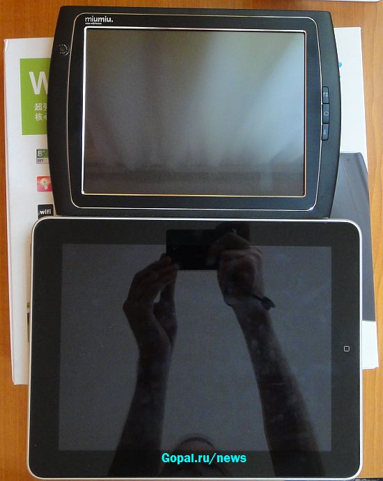 Ramos w12 и iPad