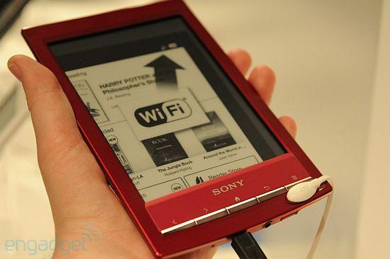 Sony Reader PRS-T1 - возможная новая Sony