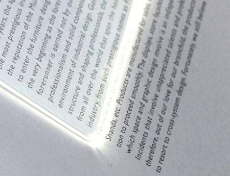 My Reading Light - в ближайшем рассмотрении