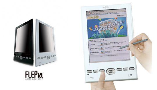 Читалка FLEPia eReader в качестве веб-планшета