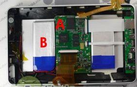 Аккумуляторы в iRobot aPad